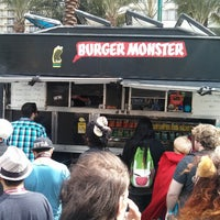 Photo taken at Burger Monster by Christopher W. on 3/29/2013