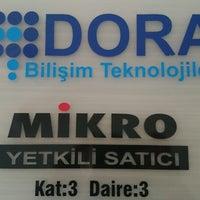 4/17/2014 tarihinde Hüseyin K.ziyaretçi tarafından Dora Bilişim Teknolojileri San. Ve Tic. Ltd. Sti.'de çekilen fotoğraf