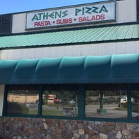 Photo taken at Athens Pizza by Lesa M. on 7/28/2014