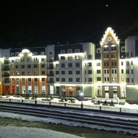 Photo taken at Tulip Inn Rosa Khutor by Mikhail Z. on 1/16/2013