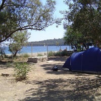 Photo taken at Camping Porto Ageranos by Theo D. on 1/22/2014