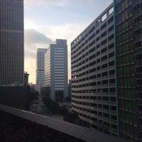 Photo taken at Hyatt Regency Houston Rooftop Pool by Yuliya Z. on 7/27/2015