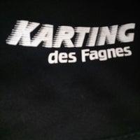 Photo taken at Karting des Fagnes by Lester D. on 3/22/2014