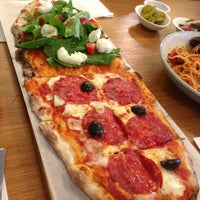 Photo taken at Trevia Pizza di Roma by KIM H. on 3/4/2013