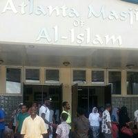 Photo taken at Atlanta Masjid Of Al-Islam by Walil A. on 6/20/2014