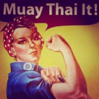 Photo taken at treino muay thai by Ana Paula L. on 3/20/2014