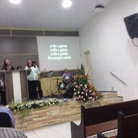 Photo taken at Igreja Bastita do Calvario by Patricia Fernanda G. on 9/22/2014