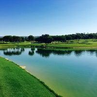 Photo taken at Laranjal Golf - Quinta do Lago by Michael K. on 7/26/2016