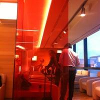 """Photo taken at Alitalia Freccia Alata Lounge """"Bramante"""" by Pieter D. on 9/28/2012"""