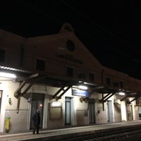 Photo taken at Genova Sampierdarena Railway Station by Pieter D. on 12/27/2016