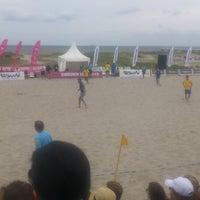 Photo taken at Ribban Beachfotboll by Johan S. on 7/14/2013