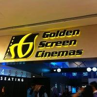 Photo taken at Golden Screen Cinemas (GSC) by Momo J. on 11/22/2012