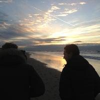 Photo taken at Strand Noordwijk aan Zee by Tom V. on 12/29/2012