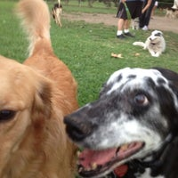 Photo taken at Baldy View Dog Park by Beth S. on 10/1/2012