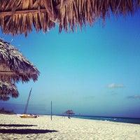 Photo taken at Playas de Varadero by Veronika K. on 1/12/2013