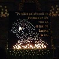 Photo taken at San Matias Parish Church by Jim 🌍 B. on 4/17/2014