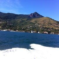 Photo taken at Ilhabela by Marcia B. on 7/7/2013