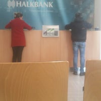 Photo taken at Halkbank by Caner E. on 1/31/2017