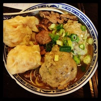 Photo taken at Tsim Chai Kee Noodle by Wei Meng S. on 6/2/2013