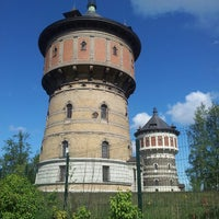 Photo taken at Water Towers by Reda R. on 5/5/2014