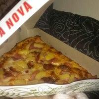 Photo taken at Pizza Nova by Marina B. on 1/21/2014