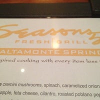 Photo taken at Seasons 52 by Cristy G. on 7/22/2013