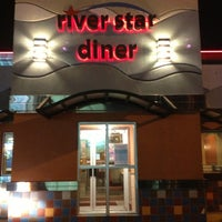 Photo taken at River Star Diner by Ned K. on 2/7/2013