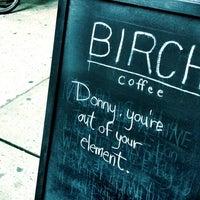 Снимок сделан в Birch Coffee пользователем Steven T. 3/21/2013