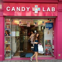 Photo taken at Candy Lab American Candy Store by Allan L. on 4/6/2013