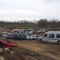 Photo taken at Queen City Metals Scrap Yard by Brent A. on 3/16/2014