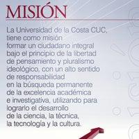 Photo taken at Universidad de la Costa - CUC by Nicolás M. on 4/28/2013
