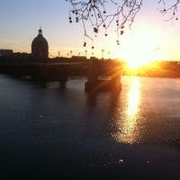 Photo taken at Quai Saint Pierre by LadieSoul on 2/19/2013