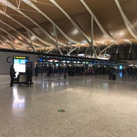 Photo taken at Lufthansa Check-In Counter by Tim G. on 1/23/2018
