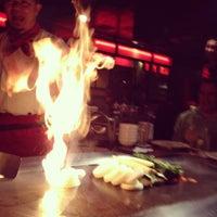 Photo taken at Kobe Japanese Steakhouse & Sushi Bar by Josh M. on 4/24/2013