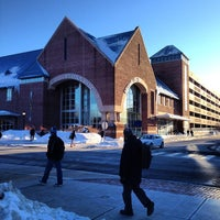 Photo taken at UConn Bookstore by Megan G. on 2/17/2014