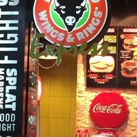 Photo taken at Buffalo Wings & Rings by D7 on 6/14/2014