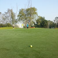 Photo taken at Royal Thai Airforce Golf & Country Club by Levon E. on 1/2/2014