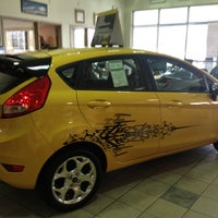 Photo taken at Gentilini Ford by Richard W. B. on 2/26/2013