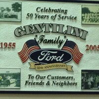 Photo taken at Gentilini Ford by Richard W. B. on 2/6/2013