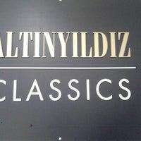 Photo taken at Altinyildiz Classics by Ahmet D. on 4/22/2014
