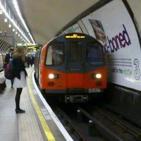 Photo taken at Clapham North London Underground Station by Mo E. on 1/7/2013