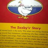 Photo taken at Zaxby's Chicken Fingers & Buffalo Wings by Rick W. on 6/10/2014