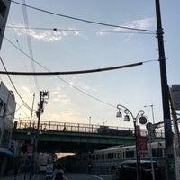 Photo taken at 代々木八幡跨線橋 by Shyam P. on 3/28/2018