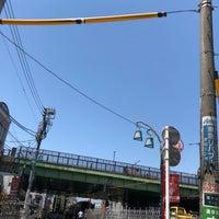 Photo taken at 代々木八幡跨線橋 by Shyam P. on 5/5/2018