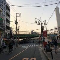 Photo taken at 代々木八幡跨線橋 by Shyam P. on 3/29/2018