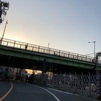 Photo taken at 代々木八幡跨線橋 by Shyam P. on 3/30/2018