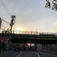 Photo taken at 代々木八幡跨線橋 by Shyam P. on 4/4/2018