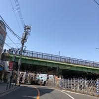 Photo taken at 代々木八幡跨線橋 by Shyam P. on 3/31/2018