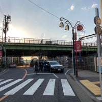 Photo taken at 代々木八幡跨線橋 by Shyam P. on 4/9/2018