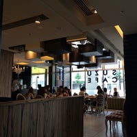 Photo taken at SUZU CAFE 広島上八丁堀 by Michael D. on 8/11/2014